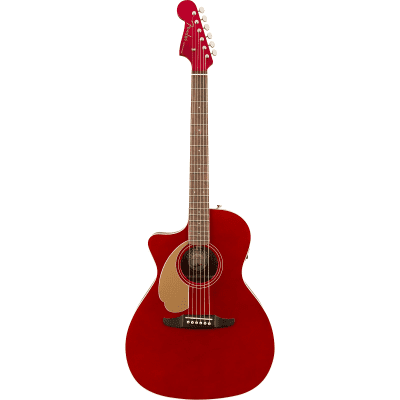 Fender California Series Newporter Player Left-Handed Candy Apple Red