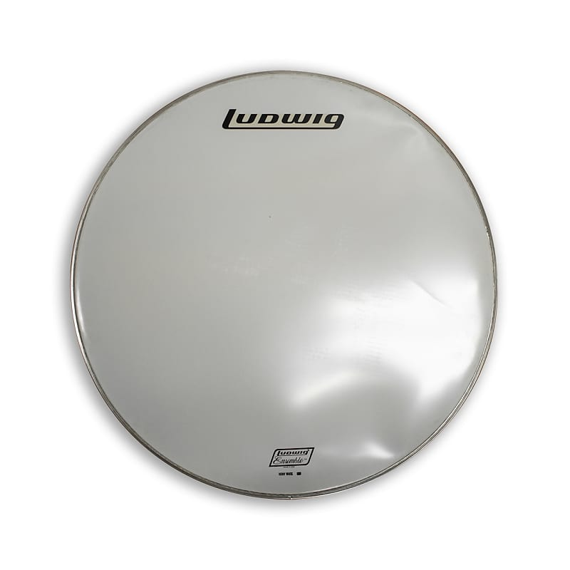 ludwig 28 smooth white bass drum head nos reverb. Black Bedroom Furniture Sets. Home Design Ideas