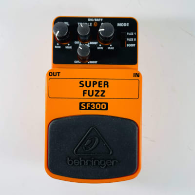 Behringer SF300 Super Fuzz Pedal *Sustainably Shipped*