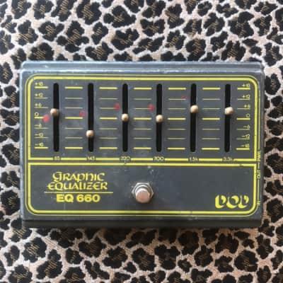 DOD EQ660 EQ-660 Vintage 80s pedal for sale