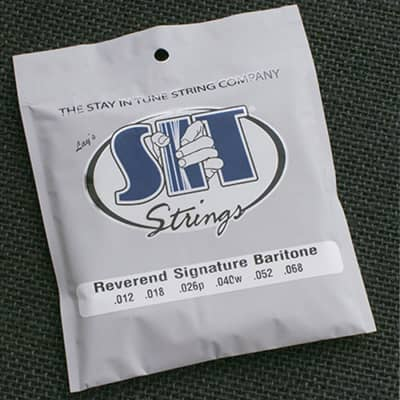 SIT Electric Baritone Guitar Strings for Reverend Descent - 12-68