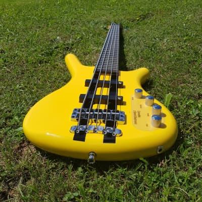 Warwick RockBass Corvette Active 5-String Bass Racing Yellow