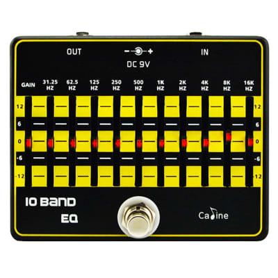Caline CP-24 10-Band Guitar/Bass Equalizer