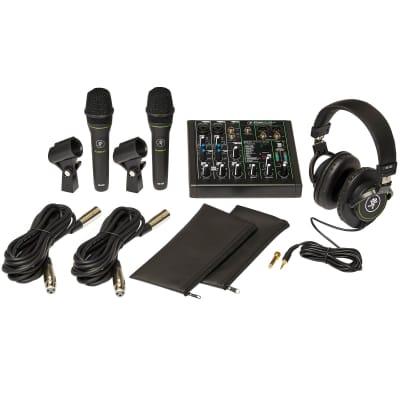 Mackie Performer Bundle with Mixer, Microphones, Headphones