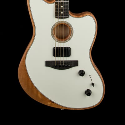 Fender American Acoustasonic Jazzmaster - Arctic White #6562A
