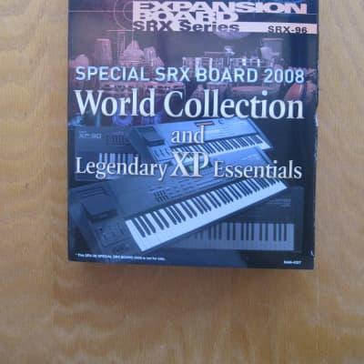 Roland Expansion Board SRX-96 World Collection Legendary XP Essentials card fantom