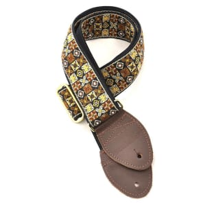 Souldier Guitar Strap - Woodstock Gold (Gold Hardware)