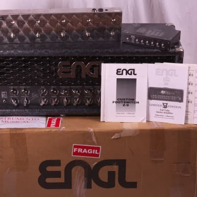Engl E646 VICTOR SMOLSKI SIGNATURE LTD + ENGL Z9 + ENGL Z11 Snake Grey for sale