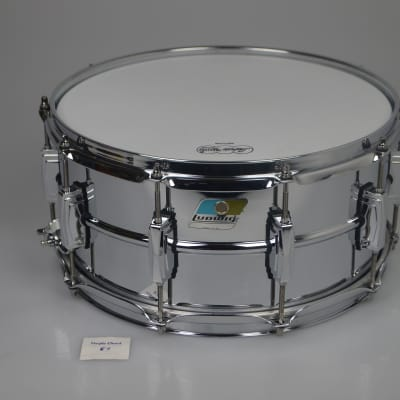 "Ludwig LM402 Supraphonic Chrome Plated Aluminum 14"" x 6,5"", new from open box"