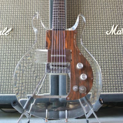 Ampeg Dan Armstrong Lucite Guitar Clear 1971 for sale