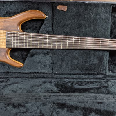 2004 Ken Smith BSR6P Pro 6 String Bass Bubinga & Tiger Maple for sale