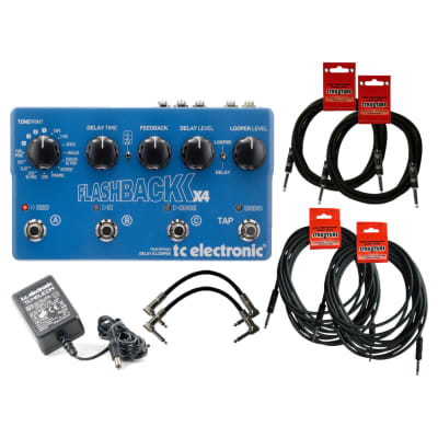 TC Electronics Flashback X4 Delay/Looper Bundle Blue