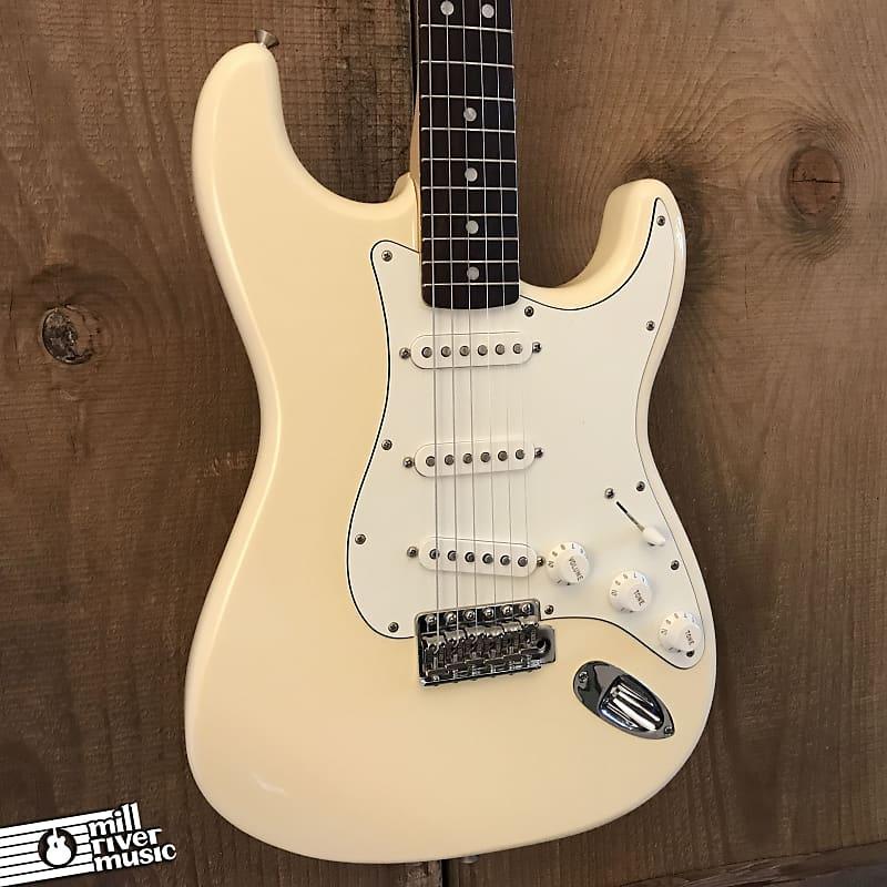 Fender Albert Hammond Jr. Signature Stratocaster MIM Olympic White w/ Gig Bag