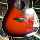 Yamaha A-Series A3R Dreadnought Acoustic-Electric Guitar  Tobacco Brown Sunburst image