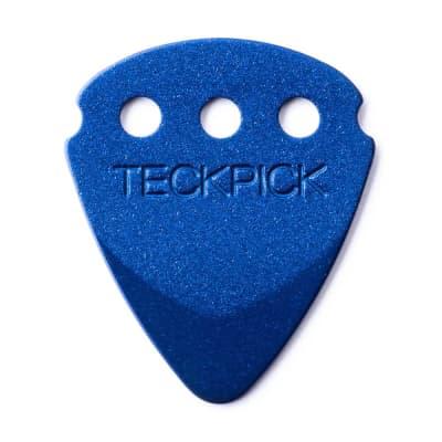 Dunlop 467R-BLU Teckpick Aluminum Guitar Picks (12-Pack)