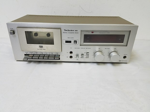 Vintage Technics RS-M8 Stereo Audio Cassette Player For Repair