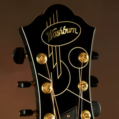 Washburn Yuriy Shishkov Custom Masterpiece Archtop Acoustic Guitar for sale