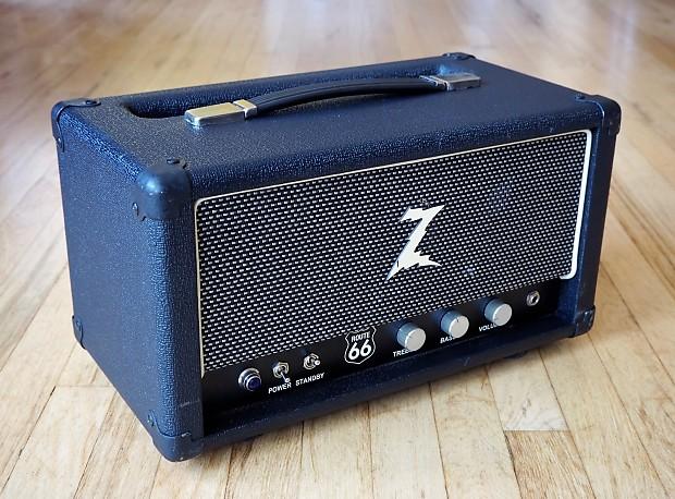 dr z route 66 boutique tube guitar amplifier head kt66 ef86 reverb. Black Bedroom Furniture Sets. Home Design Ideas