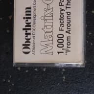 "Oberheim Matrix-6 1000 Factory Patches Volume 12 ""From Around The World"""
