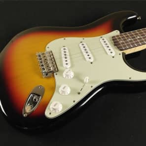 Fender Custom Shop 1965 Stratocaster NOS AAA Flame - 3-Tone Sunburst for sale