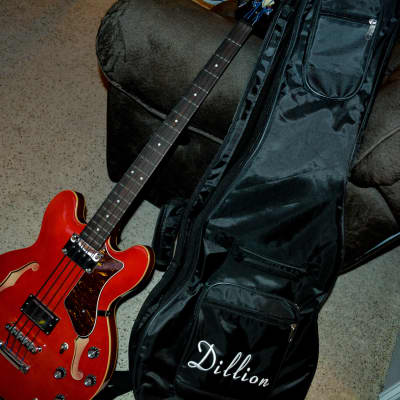 Dillion Semi Hollowbody Candy apple red for sale