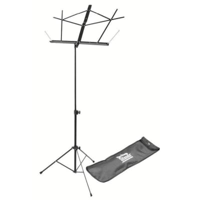 On Stage Classic Sheet Music Stand w/bag