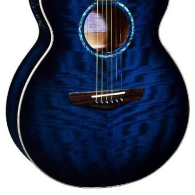 Faith Acoustic Guitar Blue Moon Venus Cut/Electro FVBLM