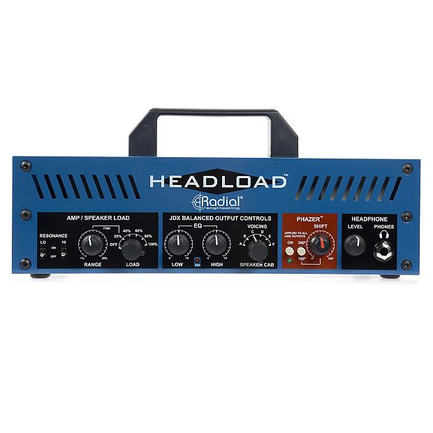 radial headload guitar amp load box 8 ohm reverb. Black Bedroom Furniture Sets. Home Design Ideas
