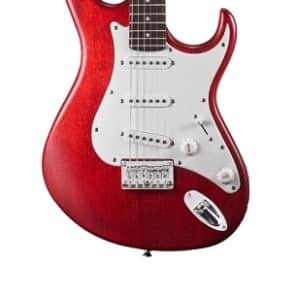 Cort G Series G100OPBC Electric Guitar, Open Pore Black Cherry, Free Shipping for sale
