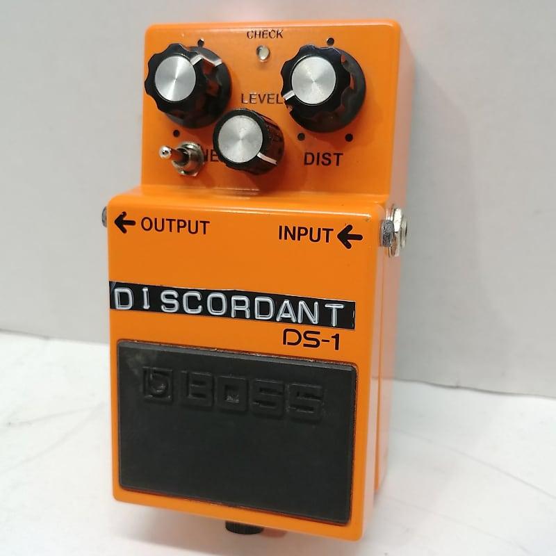 discordant modded boss ds 1 distortion pedal w 3 way reverb. Black Bedroom Furniture Sets. Home Design Ideas