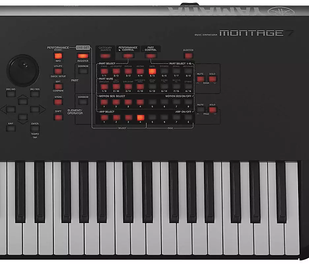 Yamaha Montage 7 76-key Flagship Synthesizer