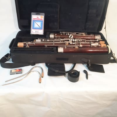 Mirafone by Schreiber Student Model Bassoon-Shop Serviced-Great Condition-Extras Included