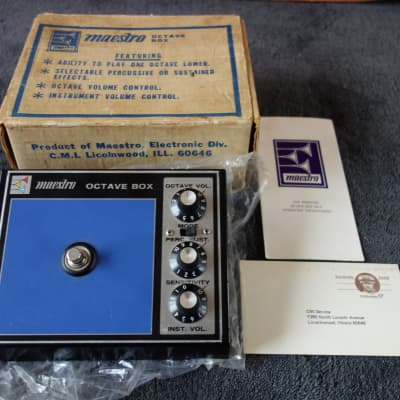 Maestro Octave Box 1974 for sale