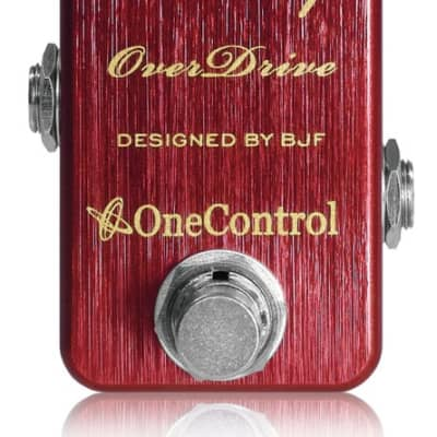 One Control Cranberry Overdrive Electric Guitar Effect Pedal BJF Series for sale