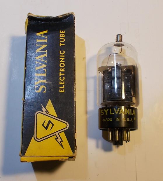 Sylvania 12DQ6A Vacuum Tube NOS NIB