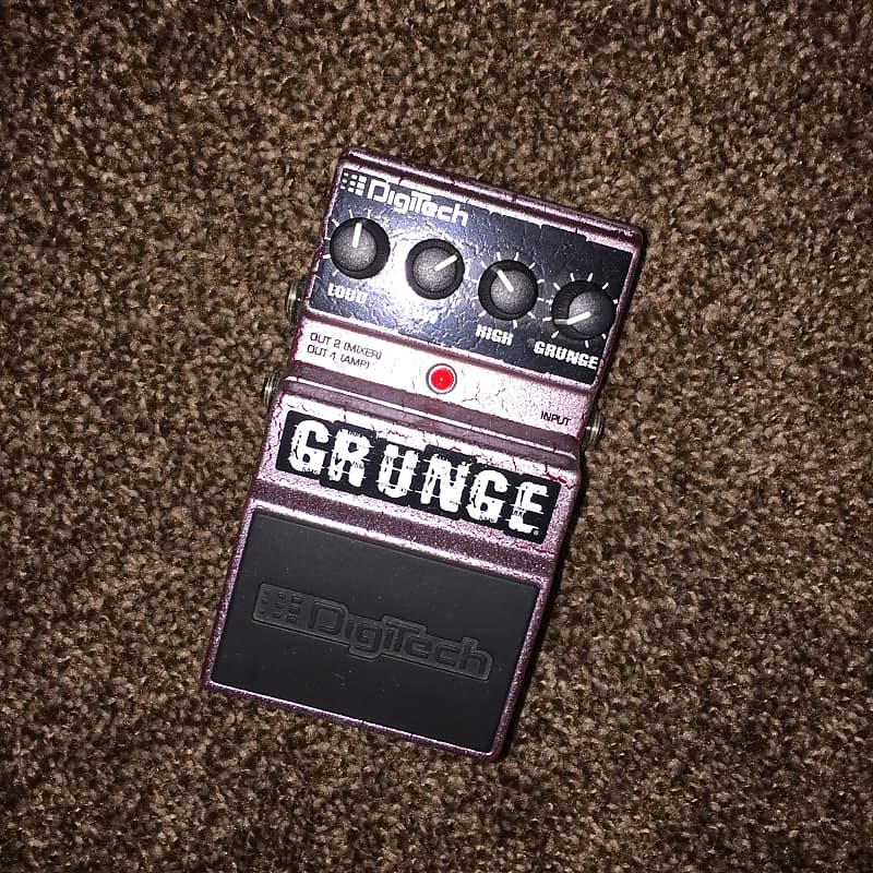 digitech grunge distortion guitar pedal musiq sales reverb. Black Bedroom Furniture Sets. Home Design Ideas