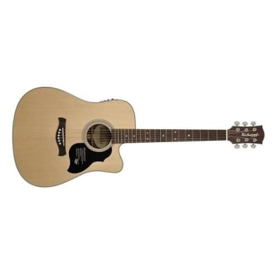 Richwood D-60-CE Master Series Dreadnought Natural for sale