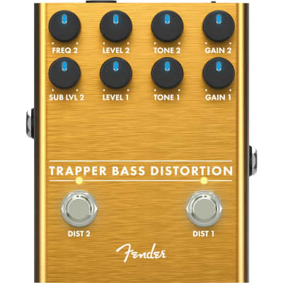 Fender Trapper Bass Distortion Pedal for sale