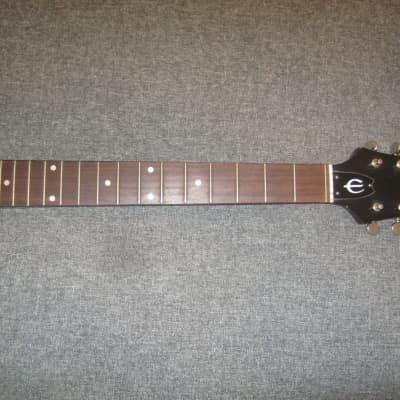 Epiphone Ft-145 Texan Guitar Neck / Tuners / Neck Plate - 1970's - Rosewood - Japan