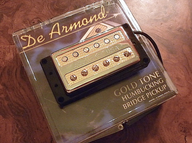 DeArmond GoldTone Bridge Humbucking Pickup | Jim's Music Glo on