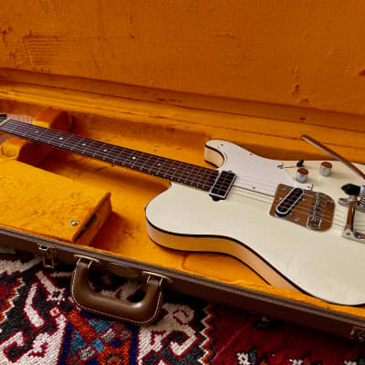 Asher 2013 T-Deluxe, Relic Olympic White with Bigsby #737 for sale