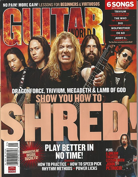 Guitar World-Magazine, January 2007 | Music Solutions LLC
