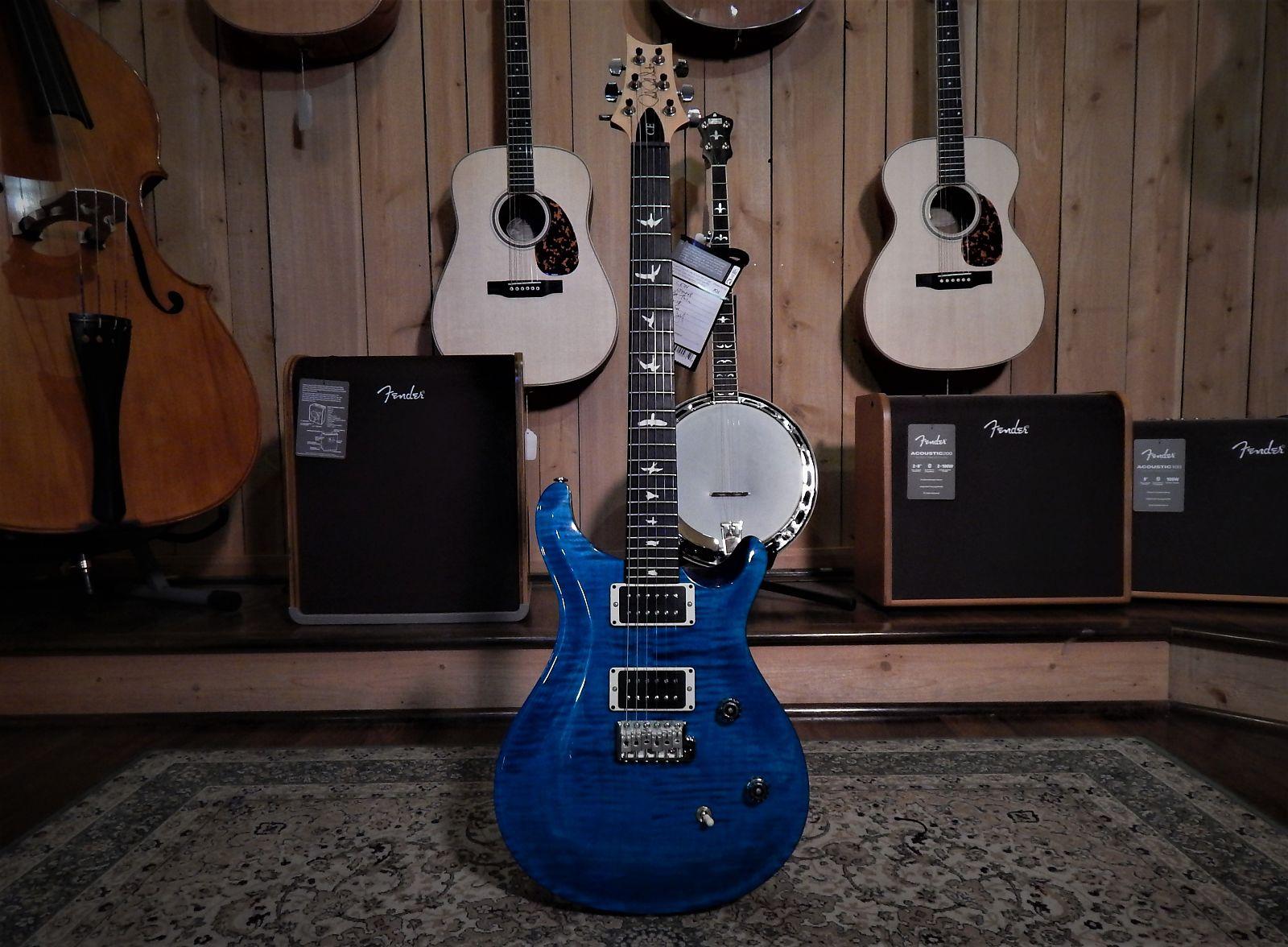 Paul Reed Smith CE-24 CC Blue Matteo (Rare Color) 2018