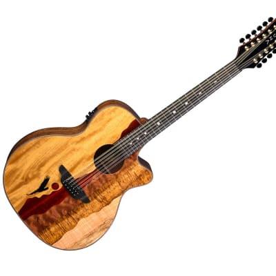 Luna Vista Eagle Acoustic Electric 12-String