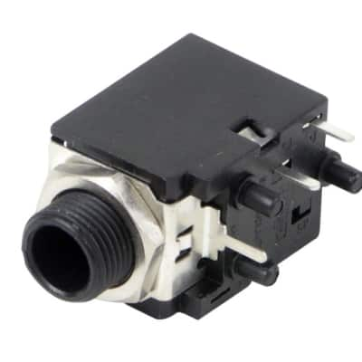 """Switchcraft Type RN112APC 2 Conductor Single Closed Circuit 1/4"""" Jack, PC Mount"""