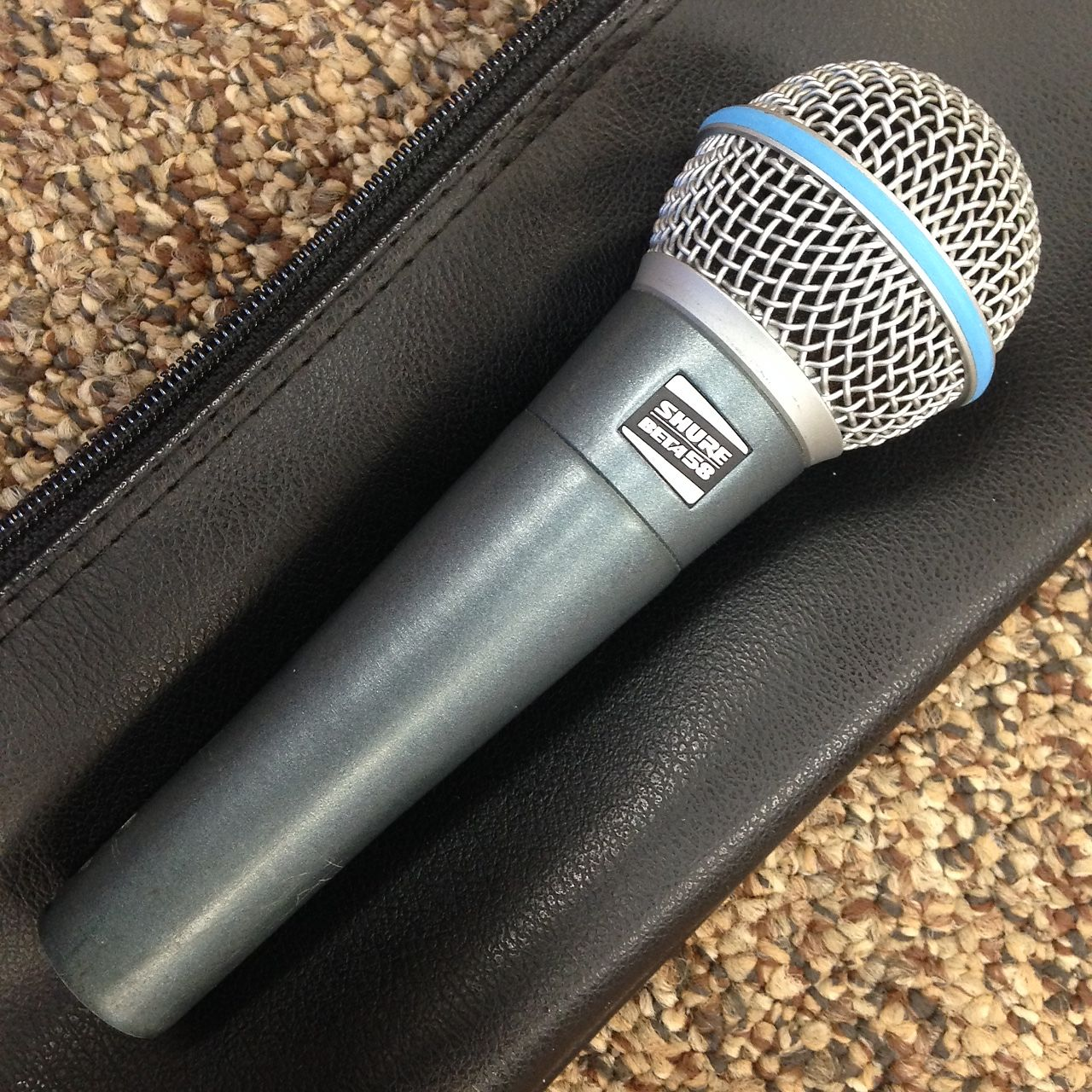 Original Vintage Shure Beta 58 Not 58A Vocal Microphone Circa Beta58 Mic