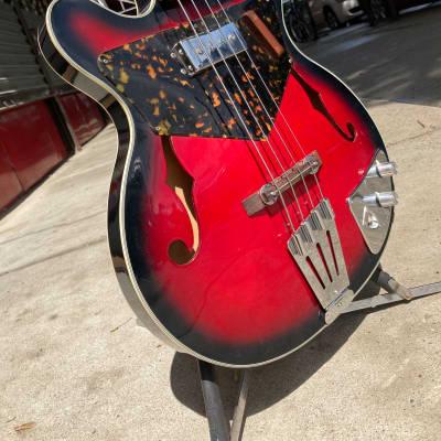 Sekova Vulcan 60's Sunburst for sale