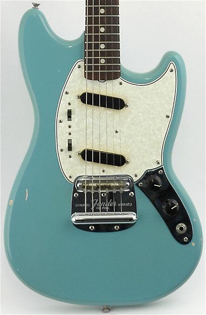Fender Mustang Daphne Blue 1965