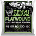Ernie Ball Slinky Flatwound Electirc Bass Guitar Strings - P02816 (5 String Single Pack)
