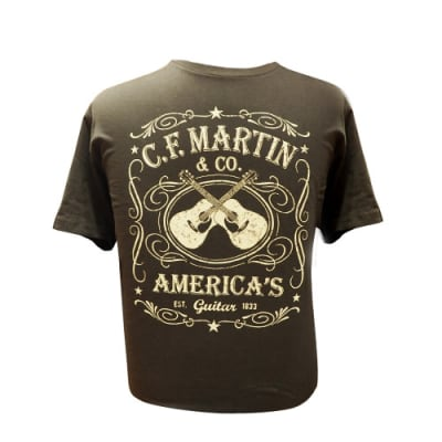 Martin Guitars Dual Guitar Tee Shirt - Small